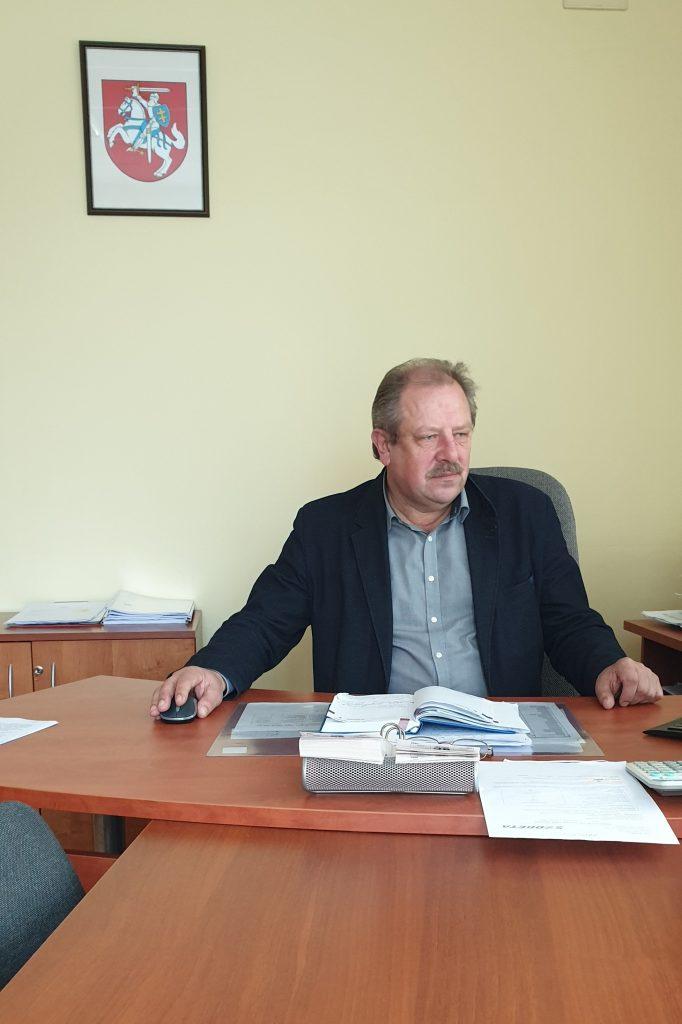 """UAB """"Butų ūkio valdos"""" direktorius Artūras Liauzginas"""