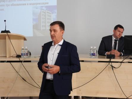 Ignalinos butų ūkio vyriausiasis inžinierius Aleksandras Dolgovas